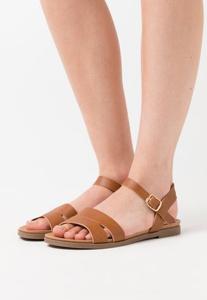 WIDE FIT GREAT - Sandaler - tan