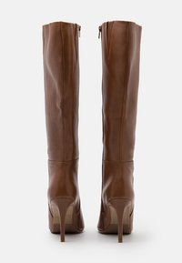 Steven New York - EFFINA - High heeled boots - cognac