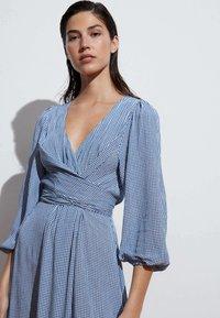 OYSHO - GINGHAM - Day dress - blue - 2