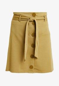 Even&Odd - Falda de tubo - khaki - 3
