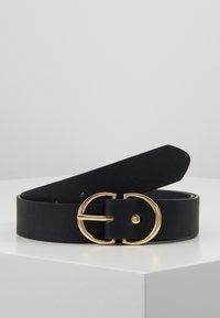 ONLY - ONLMAY ZANNE JEANS BELT - Belt - black/gold - 0