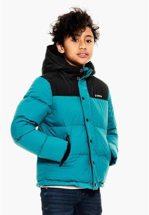 Winter jacket - oceanic