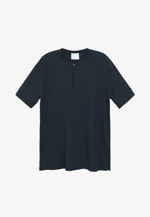 Basic T-shirt - bleu marine foncé