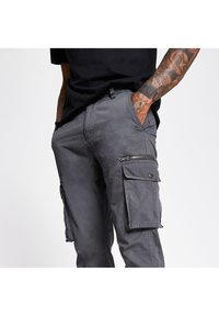 River Island - Cargo trousers - grey - 3