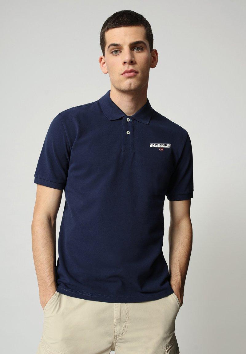 Napapijri - E-ICE - Polo shirt - medieval blue