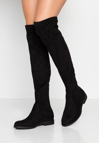 Anna Field Wide Fit - Botas mosqueteras - black - 0