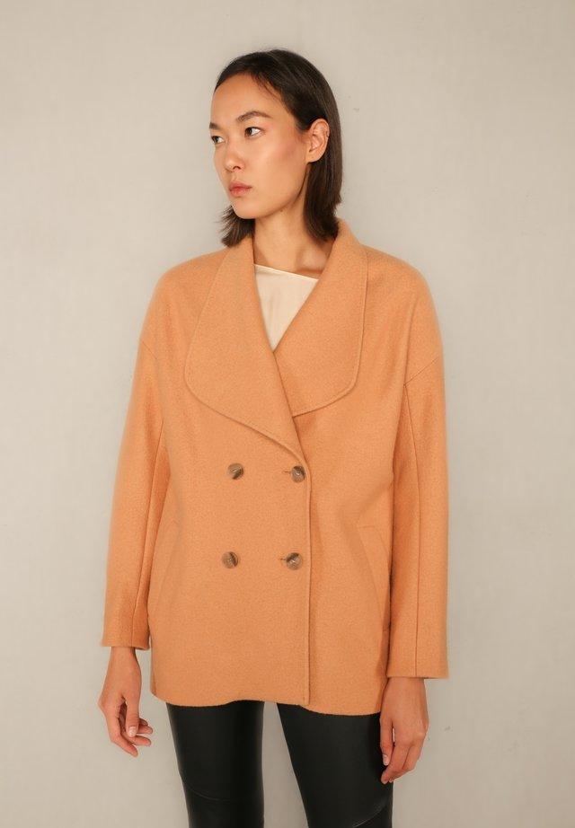 Short coat - apricot