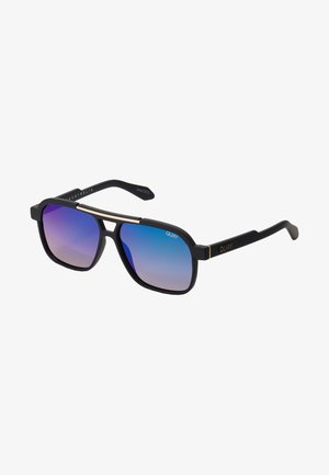 NEMESIS - Sunglasses - matte black/navy