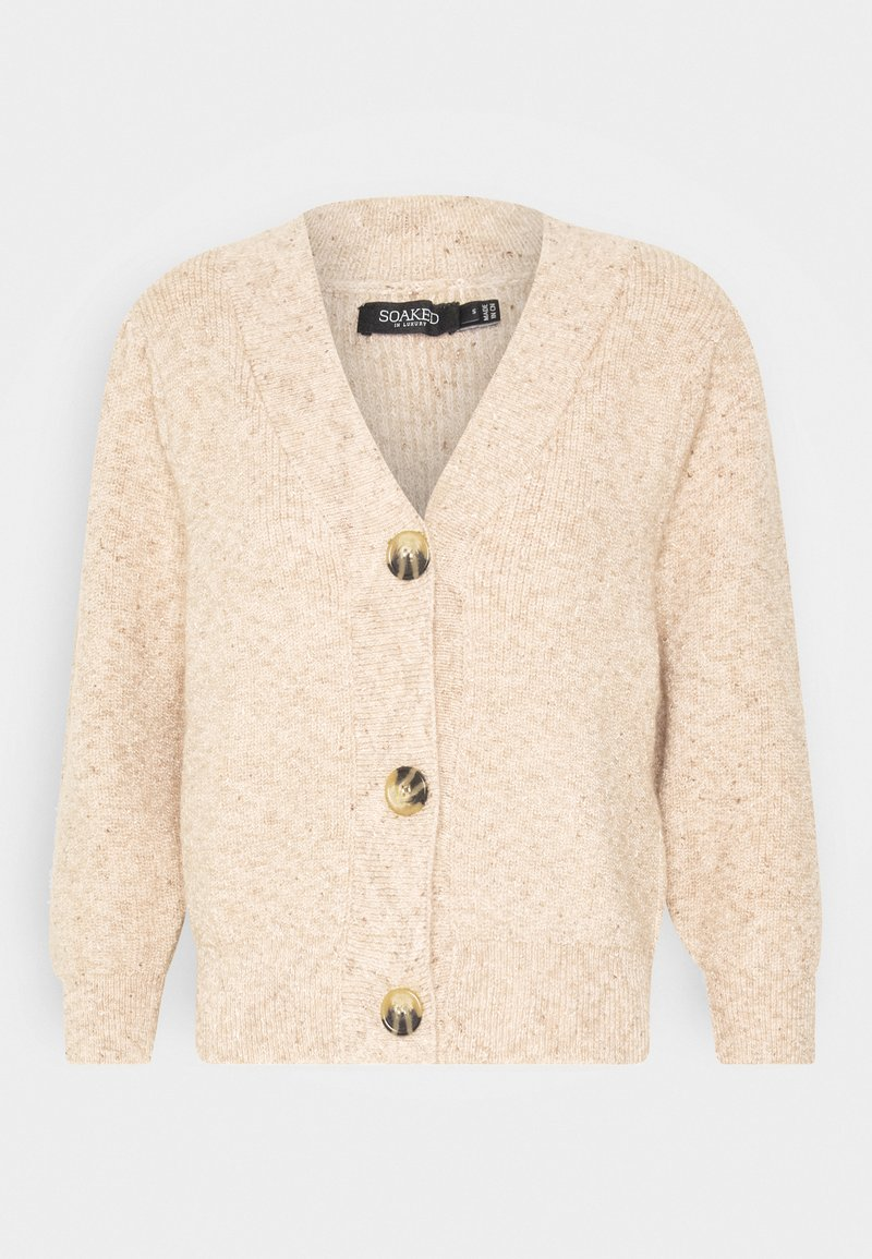 Soaked in Luxury - DANICA - Cardigan - lark melange