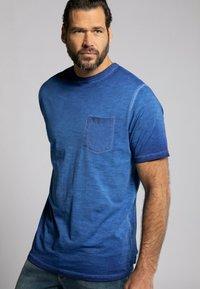 JP1880 - Basic T-shirt - ägäisblau - 0