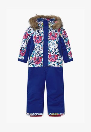PARADISE - Snowsuit - bright white leopold