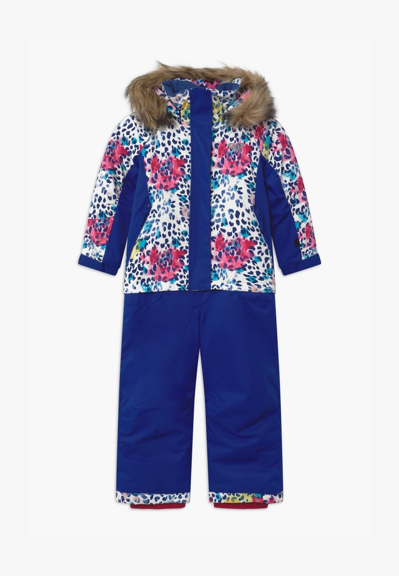 Roxy - PARADISE - Snowsuit - bright white leopold