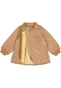 Wheat - Winter jacket - golden flowers - 2