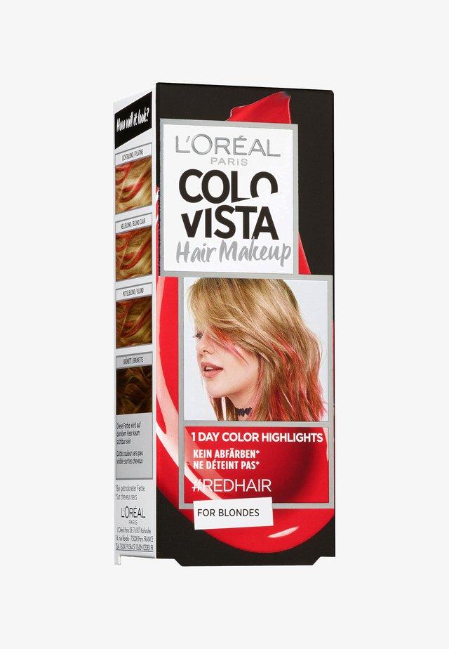 HAIR MAKEUP - Hair colour - 10 redhair