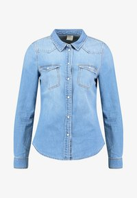 light blue denim
