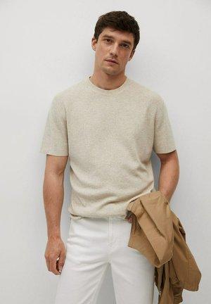 T-shirt - bas - beige