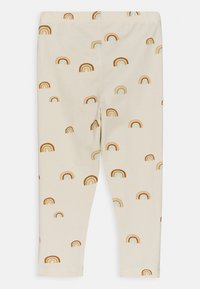 Lindex - RAINBOW - Leggings - Trousers - light beige - 1