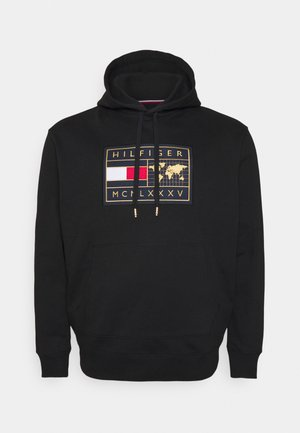 ICON EARTH BADGE HOODIE - Sweatshirt - black
