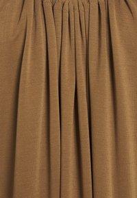 Object Petite - OBJWILMA SINGLET DRESS - Jerseyjurk - sepia - 2