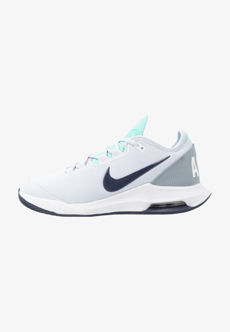 Nike Performance - AIR MAX WILDCARD CLAY - Clay court tennis shoes - football grey/midnight navy