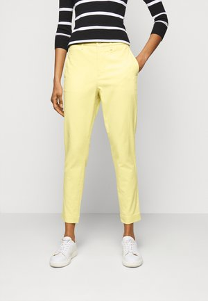 MODERN STRETCH - Pantalon classique - yellow