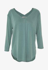 Long sleeved top - sagebrush green