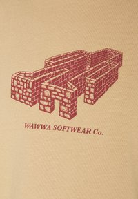 WAWWA - PAVILION UNISEX - Camiseta estampada - gold - 2