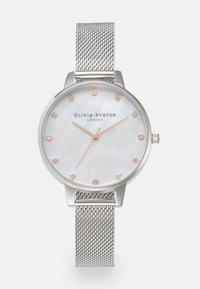 Olivia Burton - CLASSIC - Hodinky - silver-coloured - 0