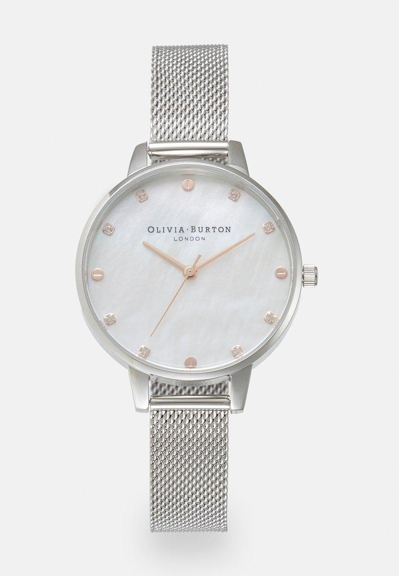 Olivia Burton - CLASSIC - Hodinky - silver-coloured