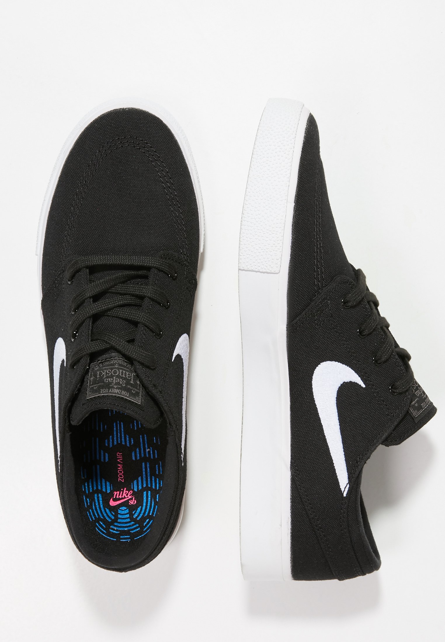ZOOM JANOSKI - Zapatillas - black/white