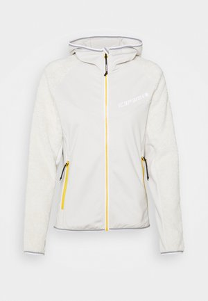DAHLEN - Fleece jacket - natural white