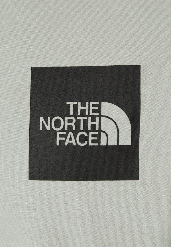 The North Face FINE TEE - Bluzka z długim rękawem - wrought iron/szary Odzież Męska ORGO
