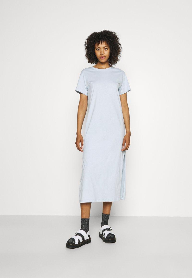 Weekday - ALANIS DRESS - Maxi dress - light blue