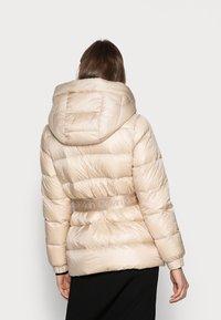 Calvin Klein - BELTED DOWN JACKET - Down jacket - grey - 2