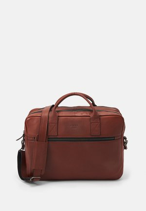 CLEAN BRIEF ROOMS UNISEX - Briefcase - cognac