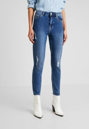 KAMELIA - Vaqueros pitillo - medium blue denim