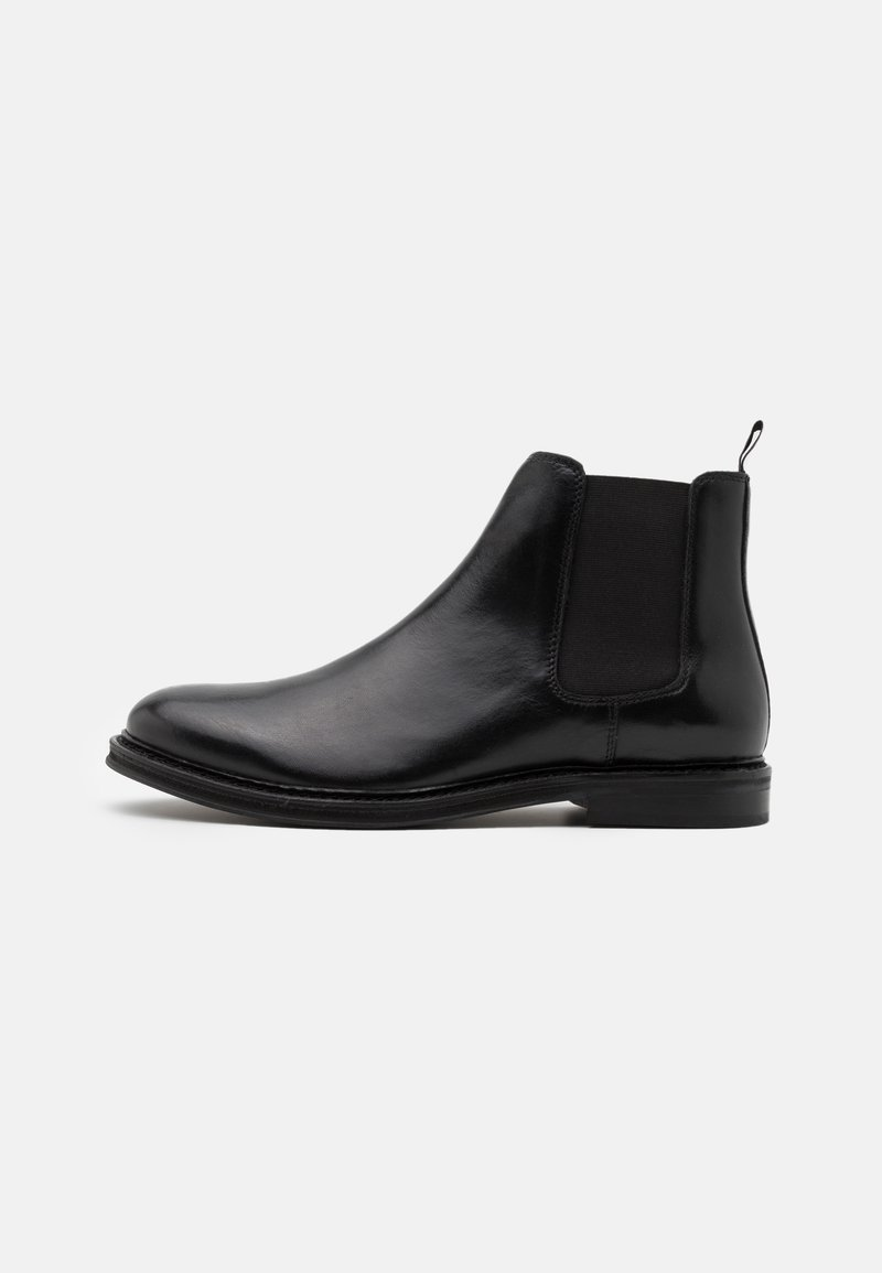 Walk London - JACOB CHELSEA - Classic ankle boots - swiss black