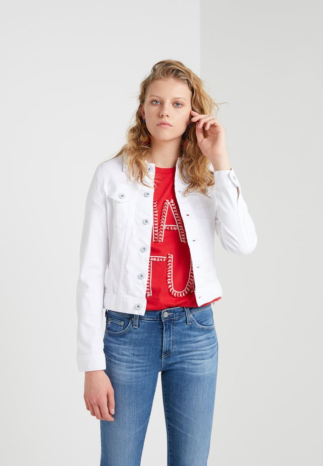 ROBYN - Denim jacket - white