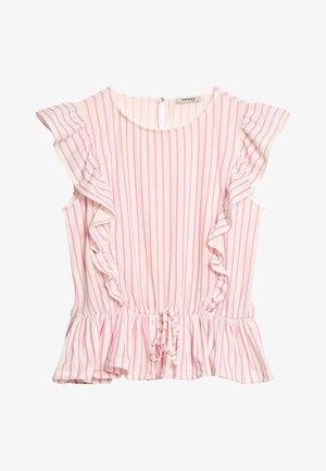 Print T-shirt - cherry blossom pink