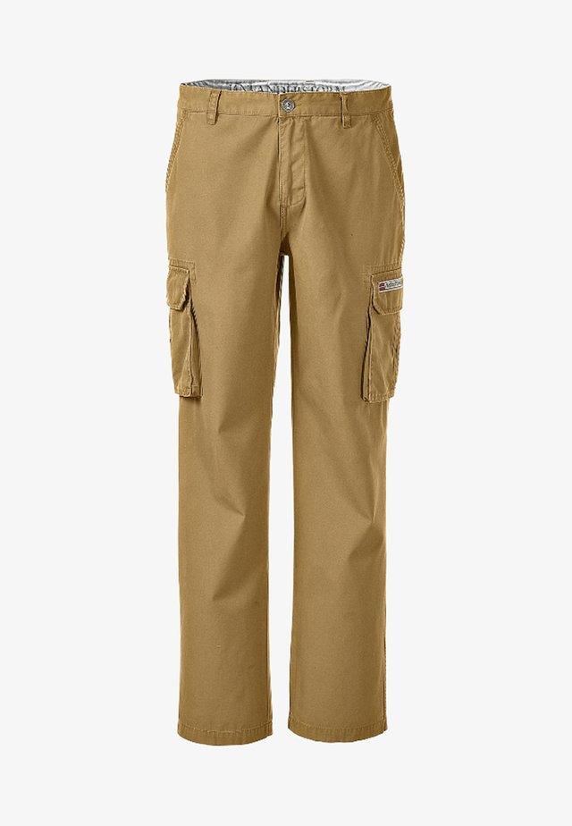STEEN - Cargo trousers - beige