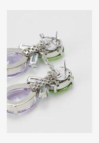 BEADED EARRINGS - Earrings - green