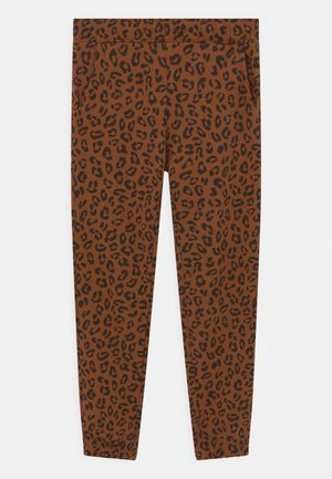 MINI LEO UNISEX - Tracksuit bottoms - brown