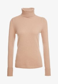 FTC Cashmere - ROLLNECK - Strickpullover - almond - 3