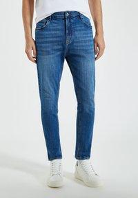 PULL&BEAR - Jeans Skinny Fit - blue-grey - 0