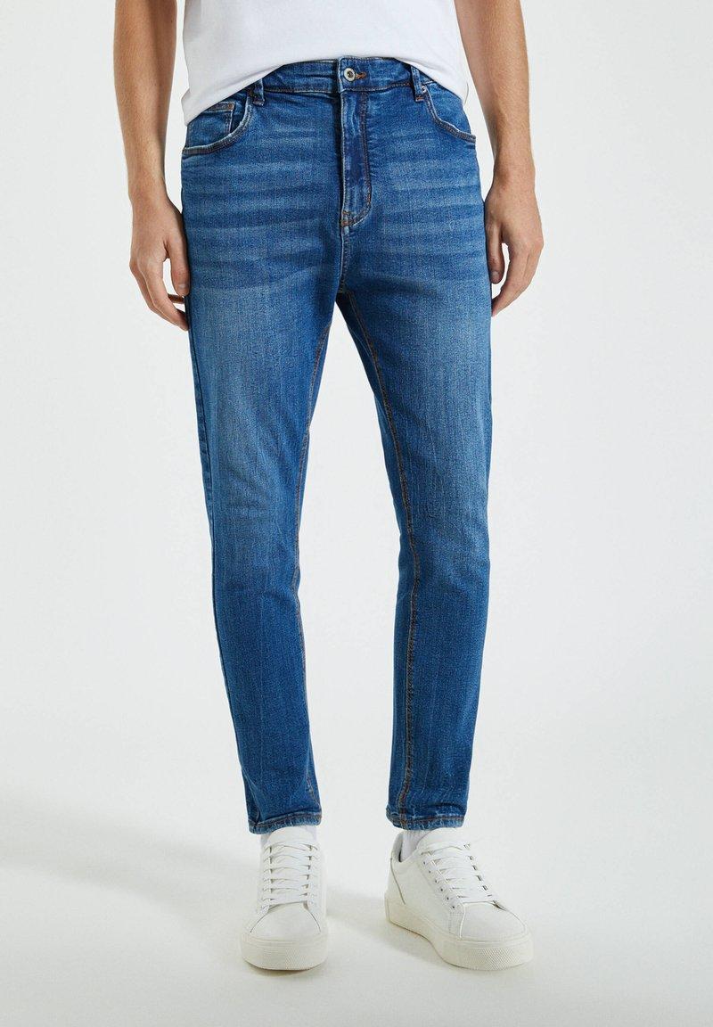 PULL&BEAR - Jeans Skinny Fit - blue-grey