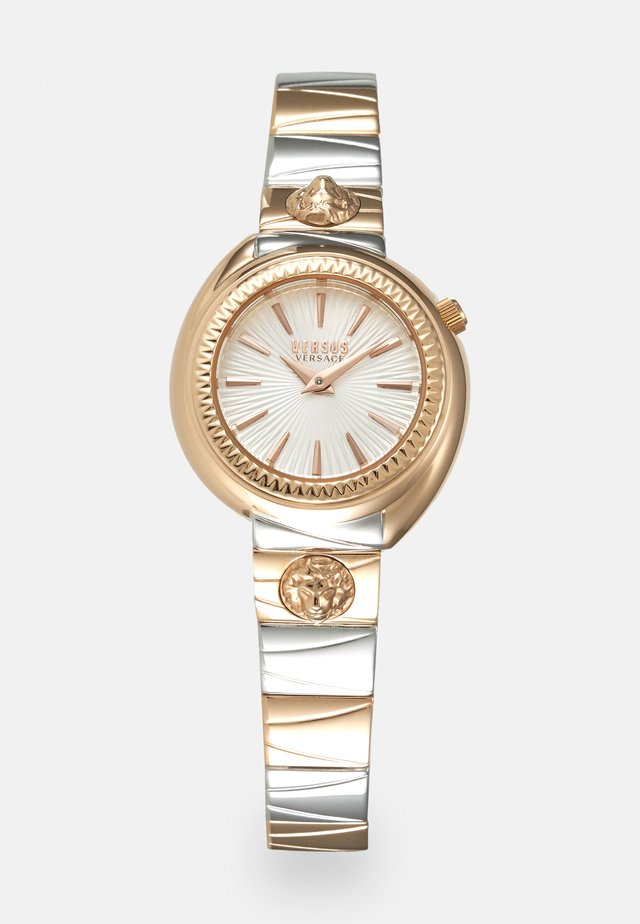 TORTONA - Watch - rosegold-coloured/silver