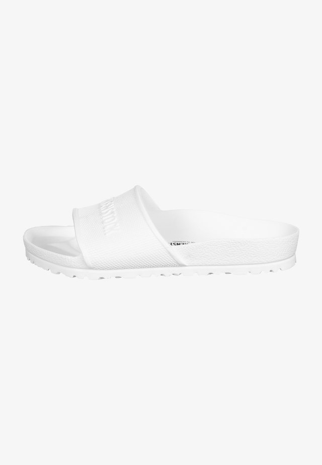 BARBADOS UNISEX - Pool slides - white