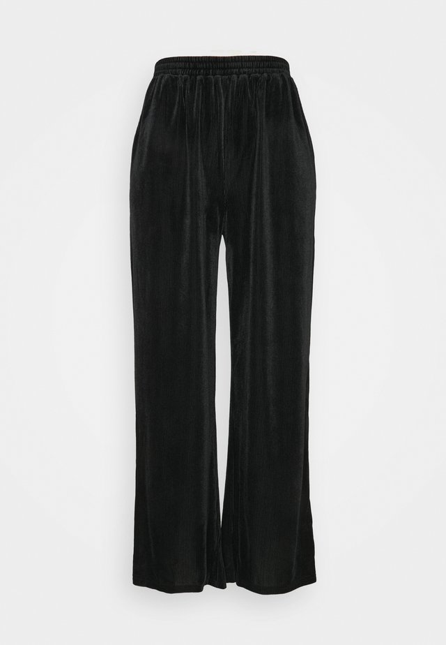 PCVINKY WIDE PANTS - Spodnie treningowe - black