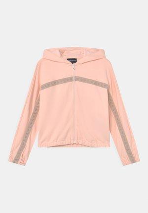 Zip-up sweatshirt - rosa naturale
