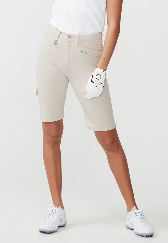 COMFORT STRETCH BERMUDA - Sports shorts - sand